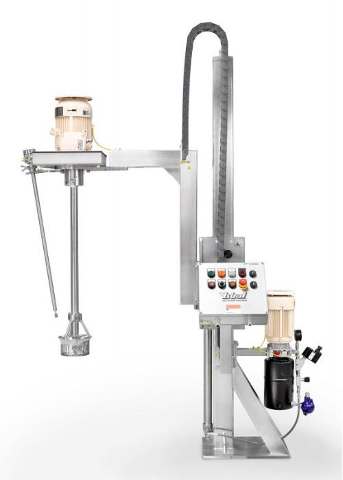 多功能搅拌机X系列 - 可更换的刀柄和可更换的搅拌和分散工具