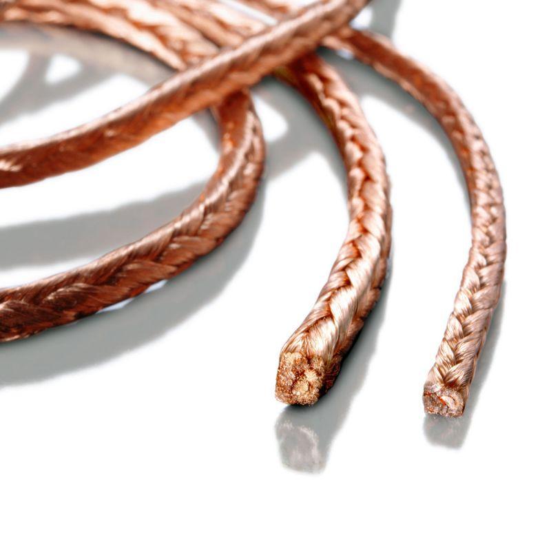 Vierkant- und Rechtecklitze aus Kupfer und Kupferlegierungen - Extrem flexible und kompakte elektrische Leiter für Kohlebürsten und Verbinder