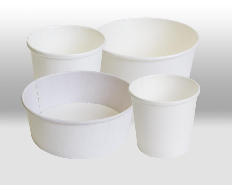 White Paper Containers - PACKAGING FOR TAKEAWAY