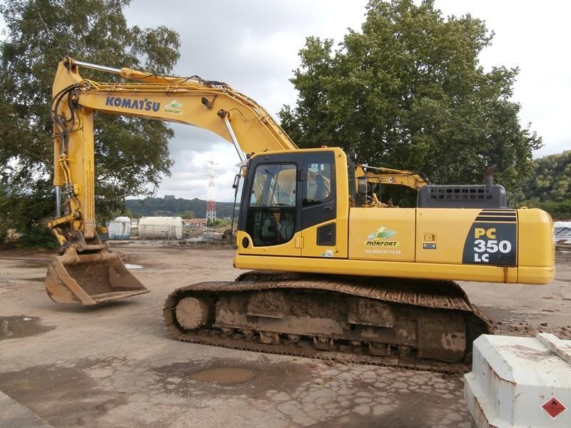 Excavators - KOMATSU PC350LC