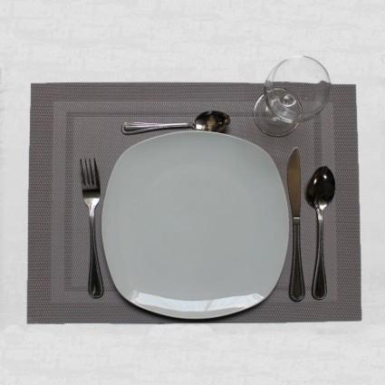 Linge de table : bavoirs et nappes - LOT DE 12 SETS DE TABLE LENNON COULEURS