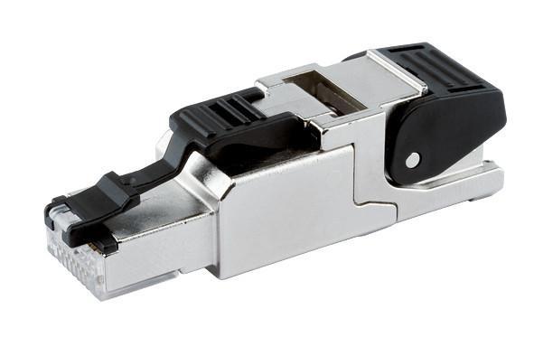 Conector RJ45 Ethernet Industrial - Conector RJ45 Ethernet Industrial para montaje en campo
