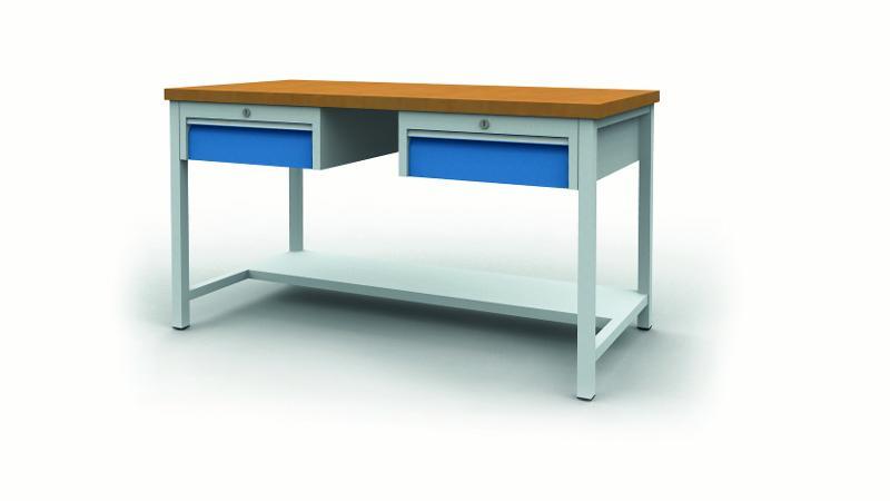 Workbench with drawer blocks - 03.14.32VA