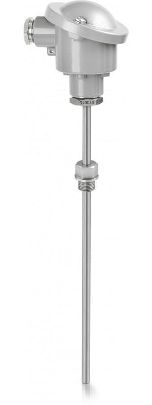 OPTITEMP TCA-S12 - Sonde de température à résistance / à thermocouple / filetée / IP68
