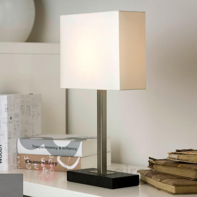 Lampe à poser discrète Pablo - Lampes à poser en tissu