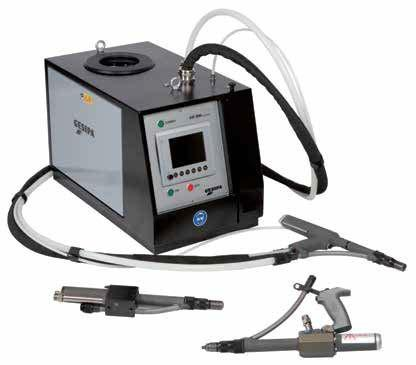 GAV 8000 electronic (Blindnietautomat) - Vollautomatisches Blindniet-Verarbeitungsgerät, komfortable Display-Bedienung