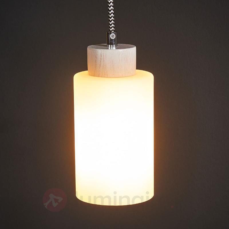 Suspension à une lampe Bosco blanc - Cuisine et salle à manger