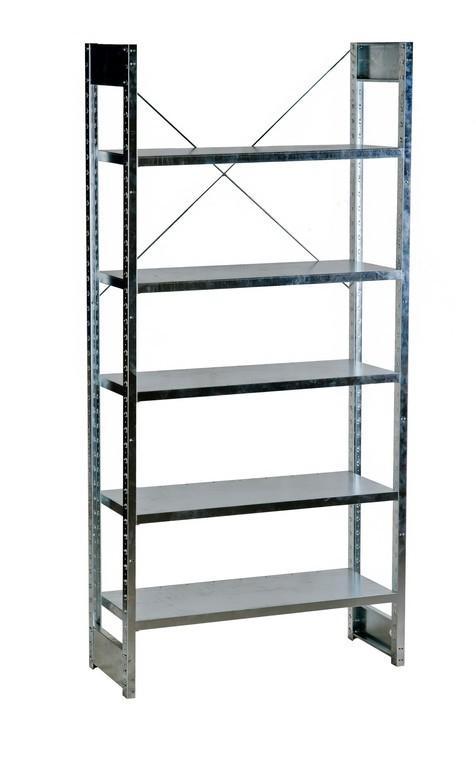 Galvanized shelving - null