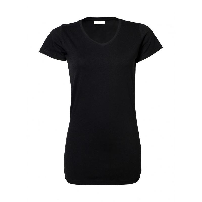 Tee-shirt femme Stretch Extra Long - Manches courtes