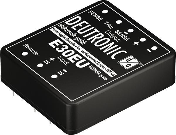 E30EU 30 Watt wide range input - DC-DC printed modules