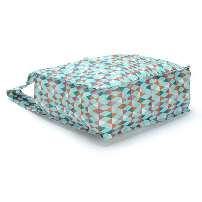 Thick nylon reusable shopping bag - full printing color