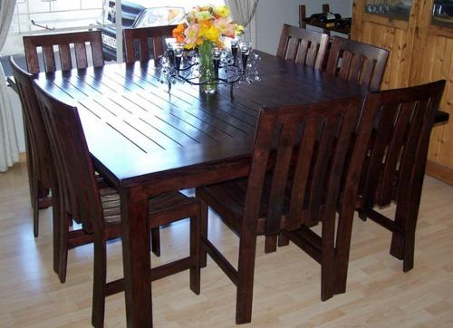 Dining Room Tables - 8 Seater Diningroom Table