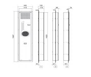 Fly11 Condizionatori Per Montaggio A Porta O Parete - LINEA CLIMATIZZAZIONE