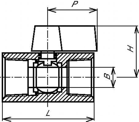 MINI VANNE FEMELLE / FEMELLE GAZ 1000 LBS / PN 63 - PASSAGE RÉDUIT - INOX 316 (5810)
