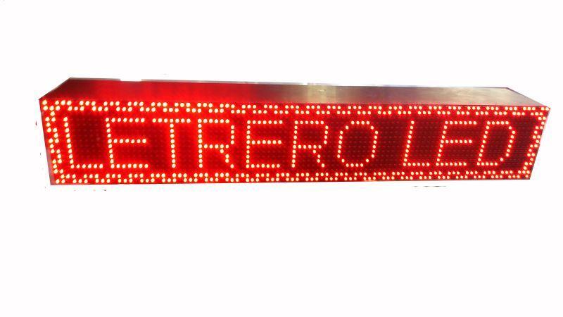 Rótulos LED programables / Letreros lumisosos electrónicos