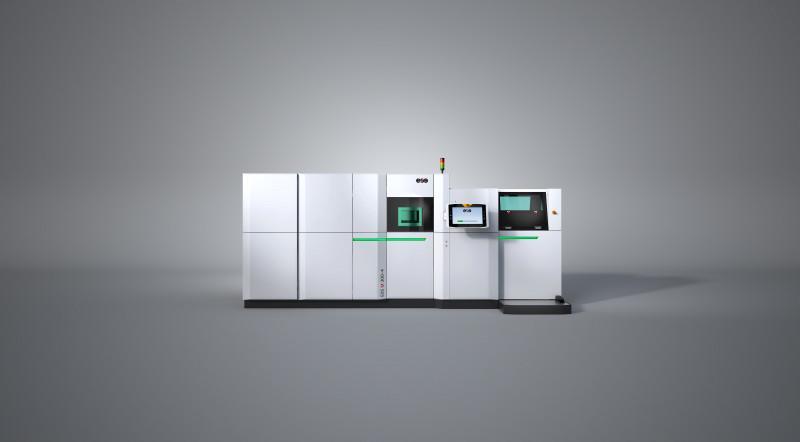 EOS M 300-4 - Digitale additive Fertigung für die industrielle Produktion von Metallteilen