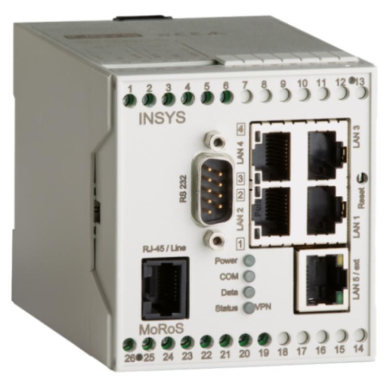 MoRoS ISDN ISDN-Modem, Swich, Router, VPN, Full-NAT