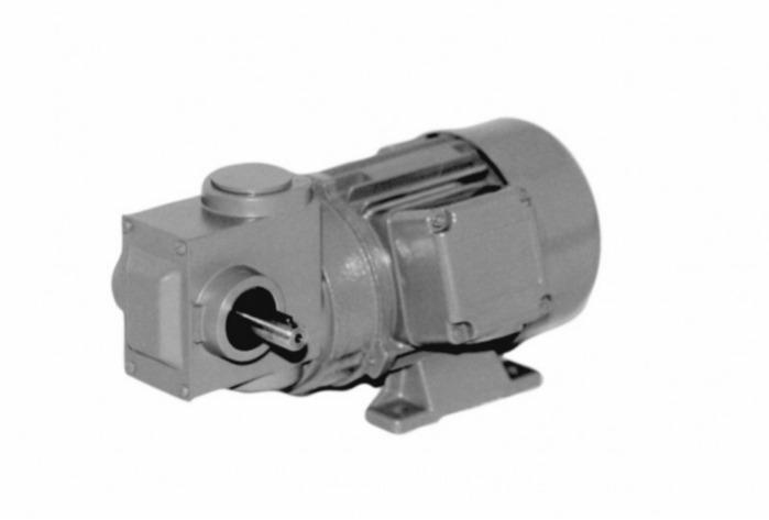 SN6 - Zweistufiger Getriebemotor mit Ausgangswelle