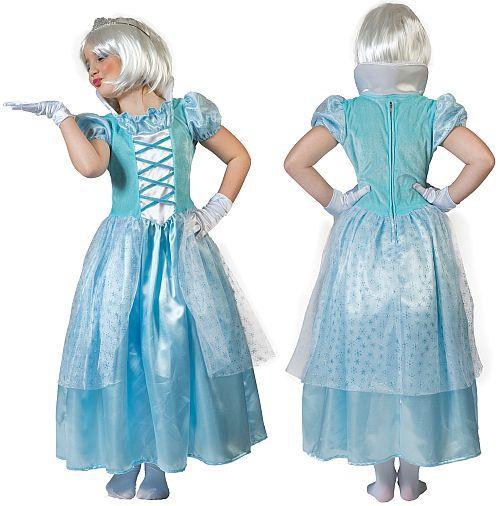 Costume Reine des neiges - null
