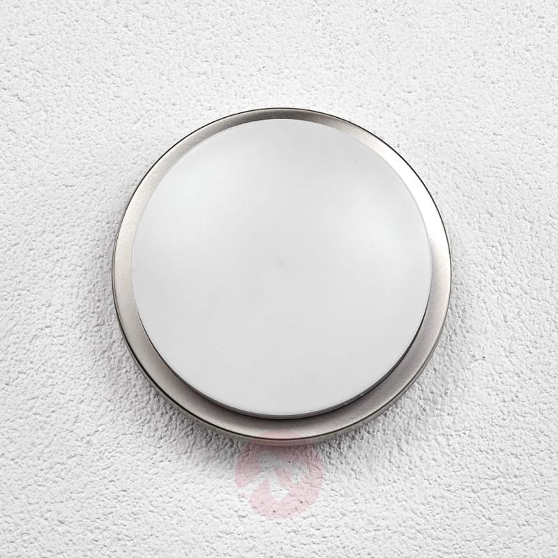 LED stainless steel outdoor wall light Matias - stainless-steel-outdoor-wall-lights