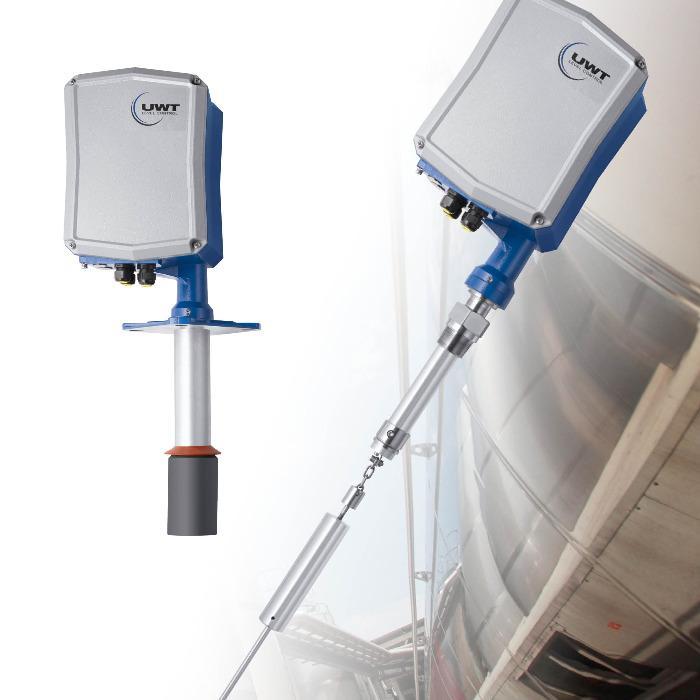 Medição Interface de sólidos em líquidos NivoBob®/Vibranivo® - Sensores recomendados para medição Interface contínua ou medição pontual