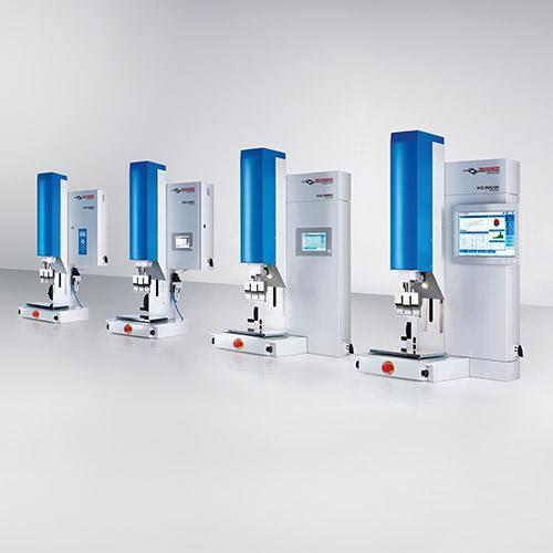 HiQ Maschinen-Baureihe - Ultraschall-Schweißgeräte der HiQ Serie