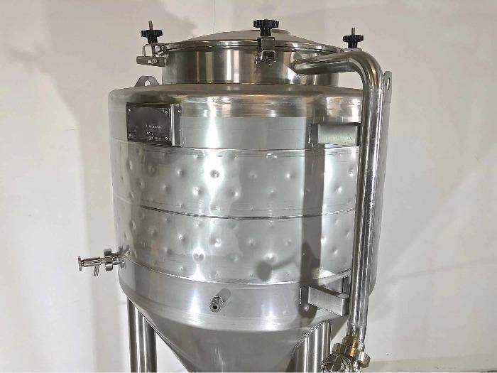 Tanque em aço inoxidável 304 - Cilindro-cónico - Fermentador de cerveja