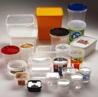 Deca TP line - The DECA-TP line offers an extensive choice of containers with safety closure