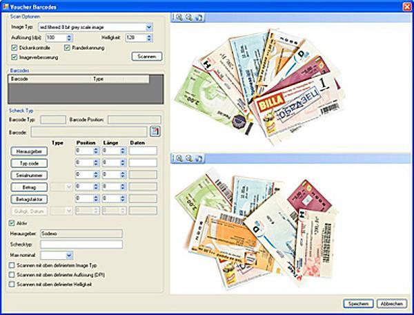 "ATM Scanners - Software ""VoucherScan"""