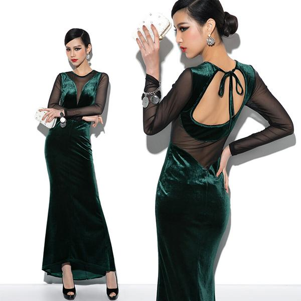 Velvet Dresses With Long Sleeves - Manufacturer, Exporter, Suppliers from India