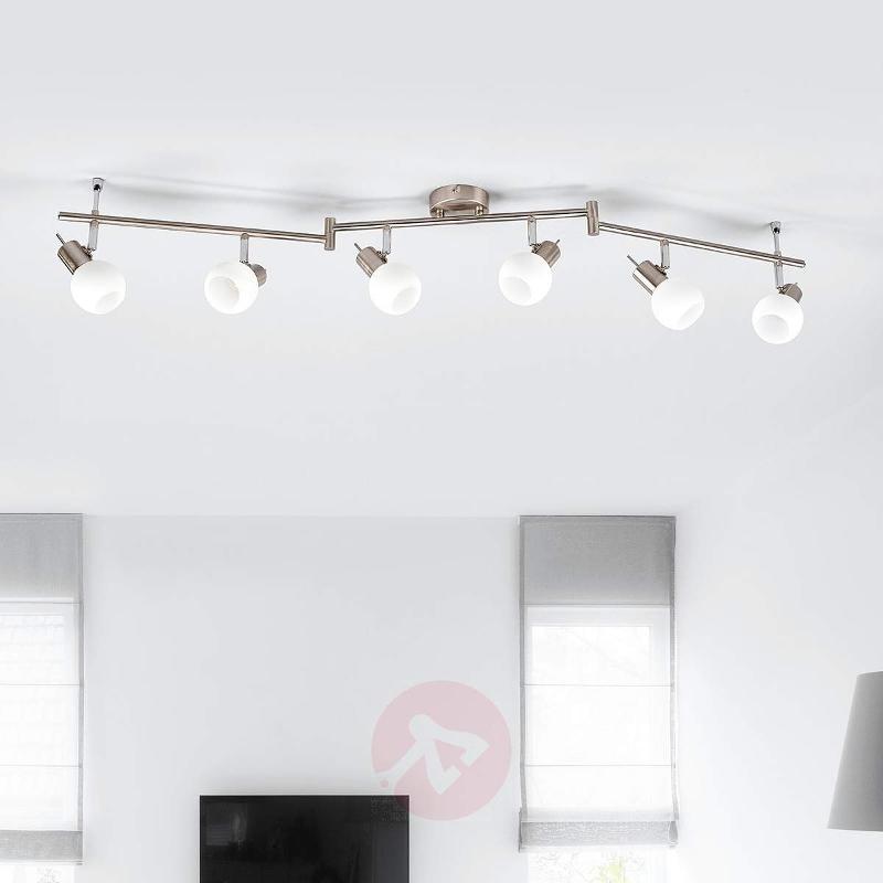 6-bulb Laurence LED ceiling light - Ceiling Lights
