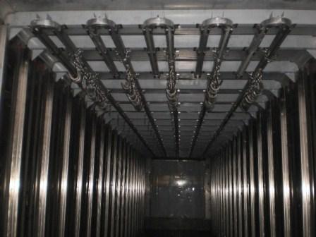 Холодильные камеры с подвесными путями
