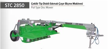 STC 2850 PULL TYPE DISC MOWER -