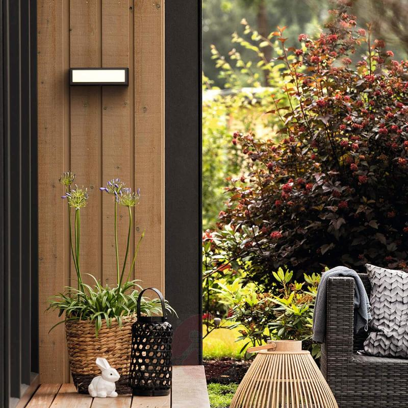 LED outdoor wall lamp Stratosphere, warm white - Outdoor Wall Lights