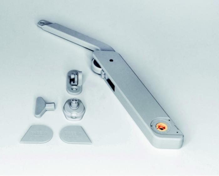 Kesseböhmer lift FREElight type A grey -