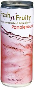 FRESH 'n FRUITY - ROSE PAMPLEMOUSSE - 25CL - Boissons
