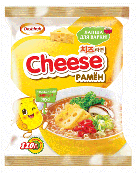 Cheese ramyun - ★ Gourmet cheese flavor - real cheese powder included