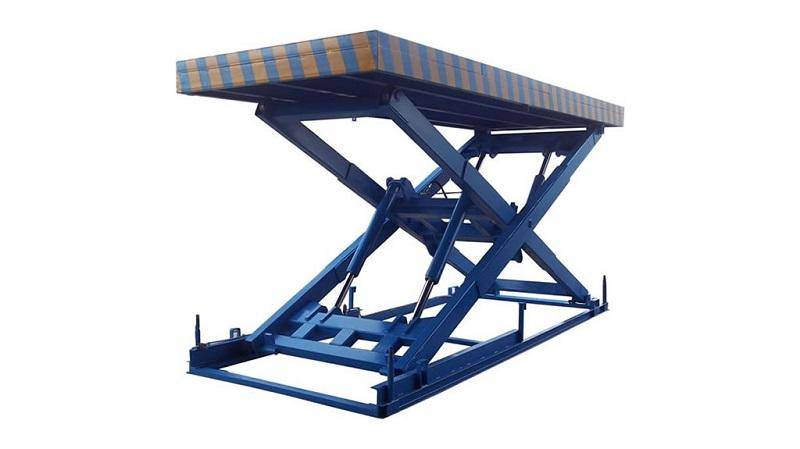 Hydraulic single scissor lift