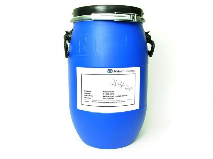 Enzalutamid - Enzalutamid, 915087-33-1, Krebsmittel, Wirkstoff, Antiandrogen