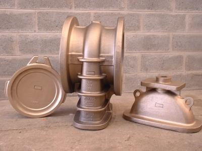 Sandgussteile für Ventile - Aluminium-Bronze Sandguss