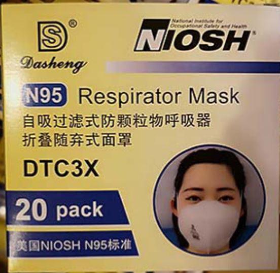 N95 Atemschutzmasken, Schutzmasken -