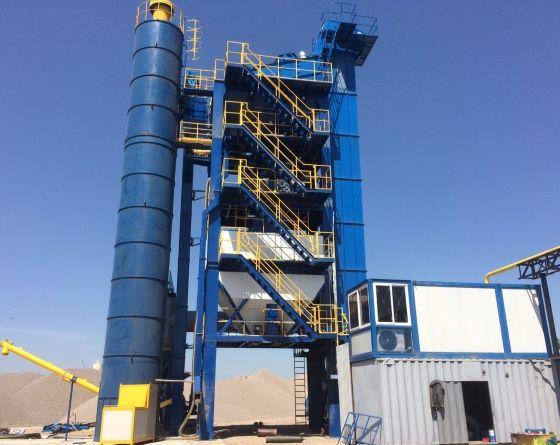 Асфальтобетонный завод RD 175 - асфальтосмесительная установка производительностью 175 тонн в час