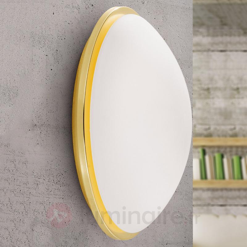 Applique LED Eleni de couleur laiton 27 cm - Plafonniers LED