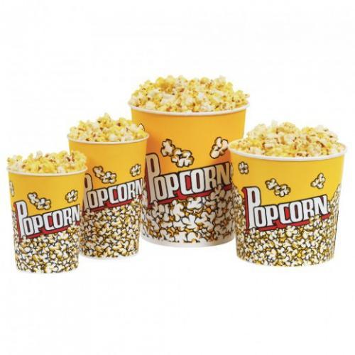 Pot à pop-corn 960 ml - carton de 500 unités