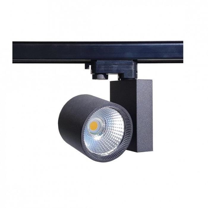 Projecteur magasin Led - Projecteur led pour magasin rail 3 allumages