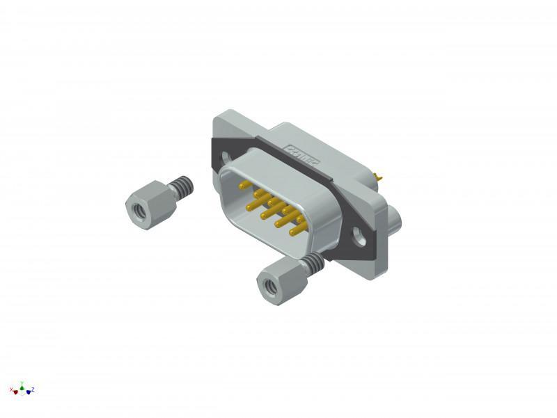 CONEC SlimCon IP67 D-SUB Filter Steckverbinder - CONEC SlimCon IP67 D-SUB Filter Steckverbinder