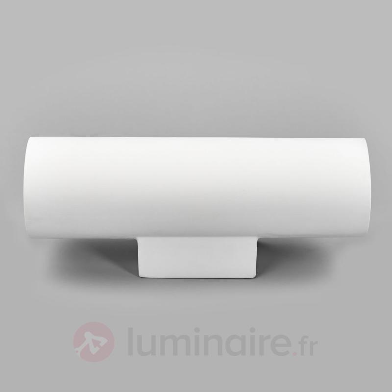 Applique en plâtre à 2 lampes Norwin - Appliques en plâtre