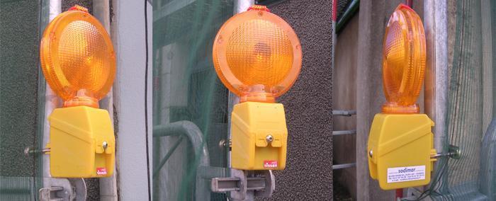 Signalisation lumineuse de chantiers - Lampes - null
