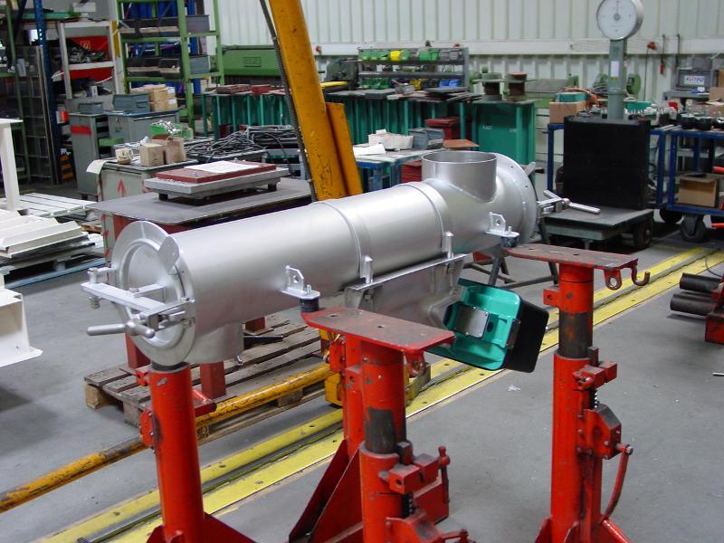 Tubular feeder - Discharging, feeding, conveying - Conveying technology