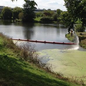 Barrage Pour Confiner Les Lentilles D'eau - BARC 2090R-Barrage déchets et débris flottants